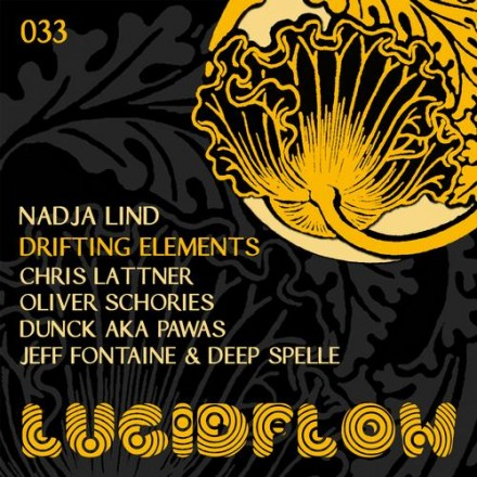 LF033 – Nadja Lind – Drifting Elements + Chris Lattner, Dunck, Oliver Schories, Jeff Fountaine & Deep Spelle Remix