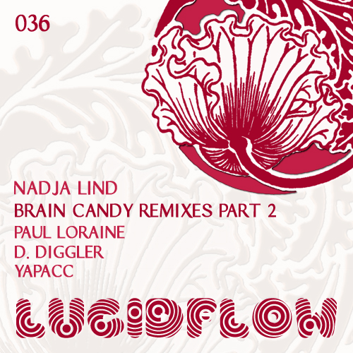 LF036 – Nadja Lind – Brain Candy Remixed Part II – Paul Loraine, Dirk Diggler, Yapacc