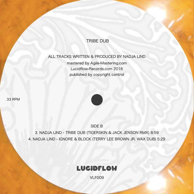 Vinyl: Nadja Lind – Tribe Dub (Brendon Moeller, Terry Lee Brown Jr., Tigerskin, Jack Jenson)