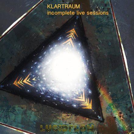 LF157 Klartraum – Incomplete Live Sessions 25.6. recorded in Klartraum studio inBerlin